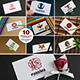 10 Business Card Mock-ups Vol.1 - GraphicRiver Item for Sale