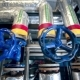 Valves, Pipes, Gauges At a Gas And Oil Production Plant - VideoHive Item for Sale
