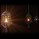 Ramadan Lanterns In Dark - VideoHive Item for Sale