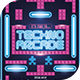 Techno Arcade Flyer Template - GraphicRiver Item for Sale