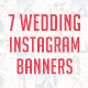 Wedding Instagram Banners - GraphicRiver Item for Sale