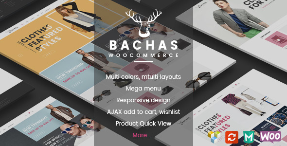 Bachas – Responsive WooCommerce WordPress Theme