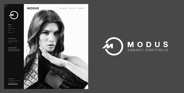 Modus – Agency Portfolio HTML