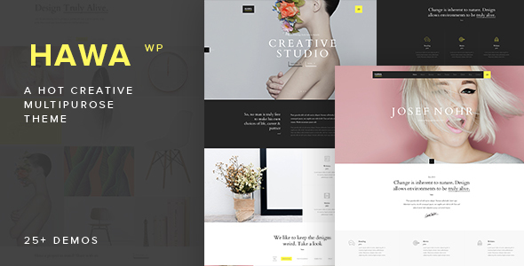 Hawa – A Hot Creative Multi-Purpose WordPress Theme