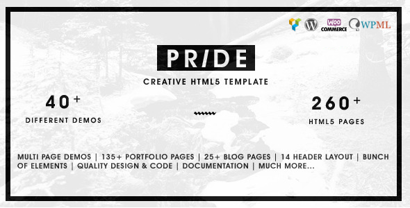 Pride – Creative Multipurpose WordPress Theme