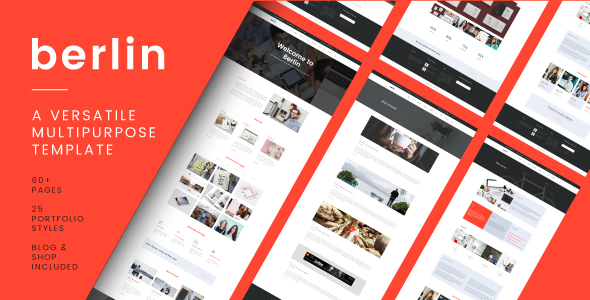Berlin - Versatile Multi-Purpose Responsive Template