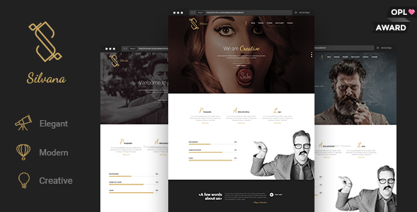 Silvana – Creative Agency WordPress Theme