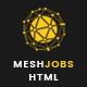 MeshJobs - Multipurpose Job Portal HTML Template Nulled