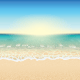 Paradise Beach Vector - GraphicRiver Item for Sale