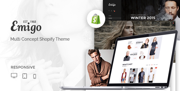 Emigo – Multi Concept Shopify Theme