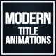 Modern Title Animations - VideoHive Item for Sale