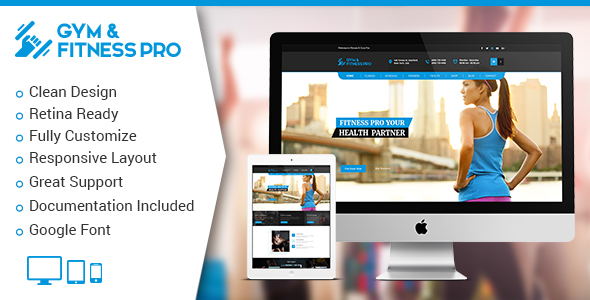 GYM Fitness Pro HTML5 Template