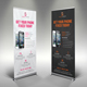Smartphone Repair Service Roll Up Banner