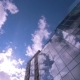 Clouds Reflected In Office Building - VideoHive Item for Sale