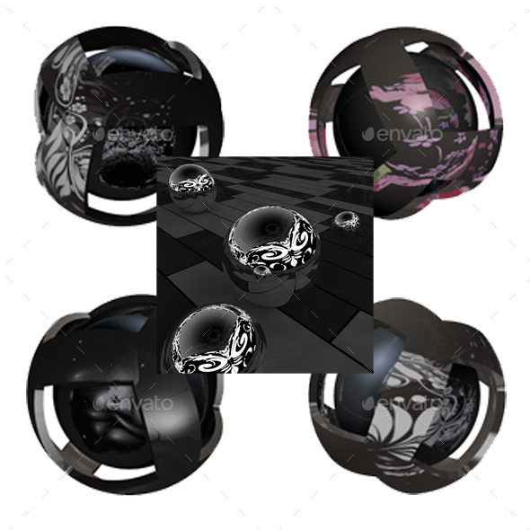 Floral HDRI Studio Lightbox PACK - 3DOcean Item for Sale