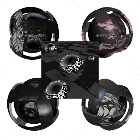 Floral HDRI Studio Lightbox PACK - 3DOcean Item for Sale