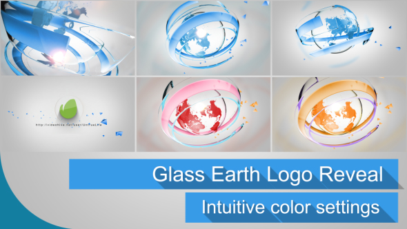 Glass Earth Logo Reveal
