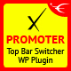 xPromoter - Top Bar Switcher Responsive WordPress Plugin - CodeCanyon Item for Sale
