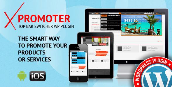 xPromoter - Top Bar Switcher Responsive WordPress Plugin - CodeCanyon Item for Sale