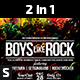 Boys Like Rock Flyer - GraphicRiver Item for Sale