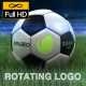 Rotating Logo On Soccer Ball - VideoHive Item for Sale