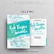 Simple Brush Wedding Invitation - GraphicRiver Item for Sale