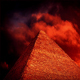 Red Sky Over Pyramid Esoteric Concept - VideoHive Item for Sale