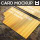 Any Form Business Card MockUp Vol.1 - GraphicRiver Item for Sale