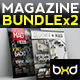 Magazine Template Bundle - InDesign Layout V4 - GraphicRiver Item for Sale