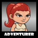 Adventurer 16 Redhead Girl - GraphicRiver Item for Sale
