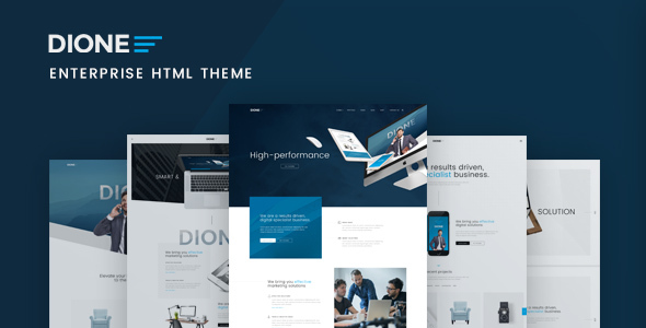 Dione – Enterprise HTML Theme