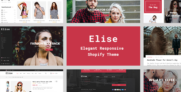 Elise – A Genuinely Multi-Concept Shopify Theme