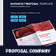 Proposal Brochure Print Template - GraphicRiver Item for Sale