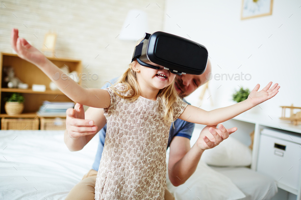 Virtual play - Stock Photo - Images