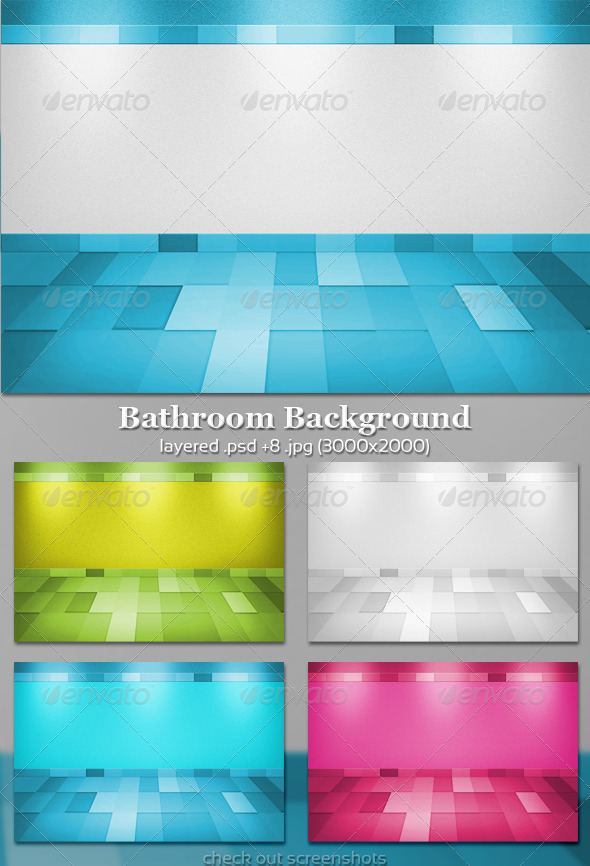 Bathroom Background - 3D Backgrounds