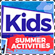 Summer Kids Activities Camp Flyer Template - GraphicRiver Item for Sale