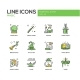 Magic - Line Design Icons Set - GraphicRiver Item for Sale