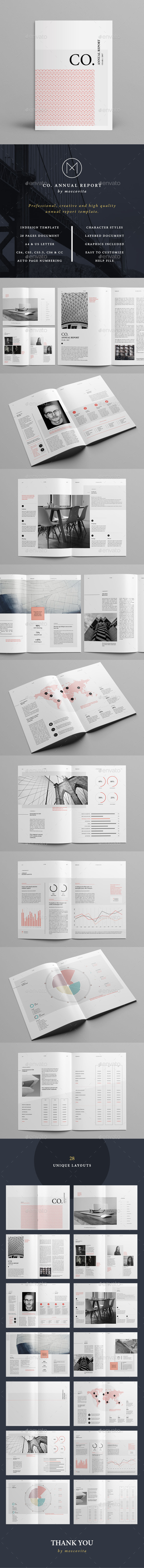 CO. Annual Report - Corporate Brochures