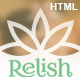 Relish - Spa Salon HTML Template Nulled