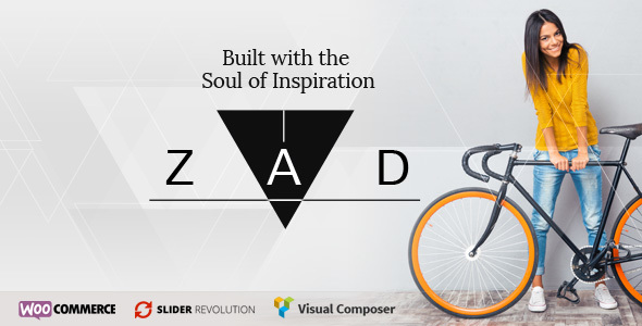 Zad | The Unique Multiuse Theme - Creative WordPress