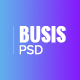 Busis — Clean Multipurpose Business & Corporate PSD Template