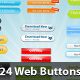 24 Web 2.0 Buttons! - GraphicRiver Item for Sale