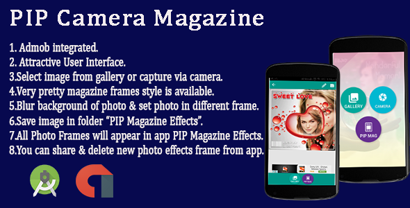 PIP Magazine Cover Android App  - CodeCanyon Item for Sale