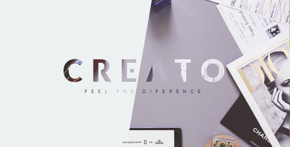Creato Parallax - Parallax Scrolling Template - Creative Site Templates