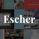Escher - An Urban Lifestyle Blog Theme Nulled