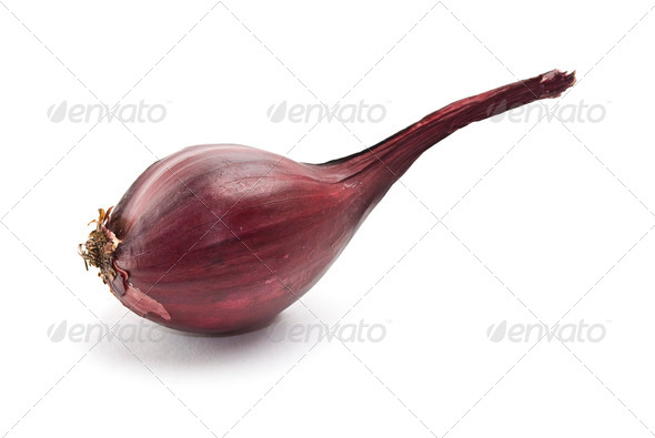 Red onion - Stock Photo - Images