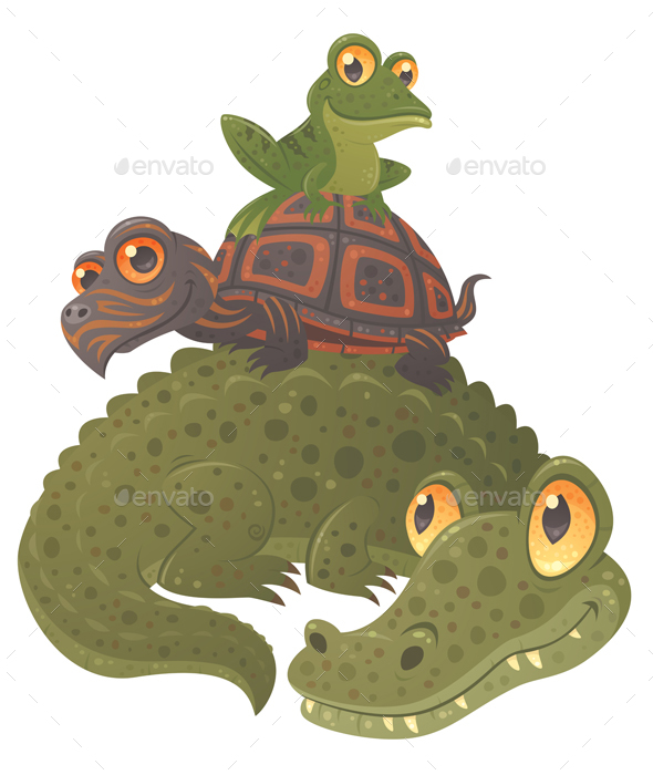 Swamp Squad - Animals Characters