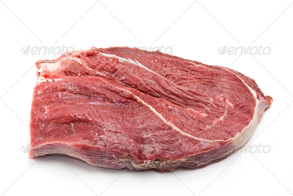 Fresh raw beef piece - Stock Photo - Images