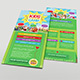 Kids Summer Camp Rack Card - GraphicRiver Item for Sale