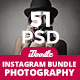 Bundle Photography Instagra-Graphicriver中文最全的素材分享平台